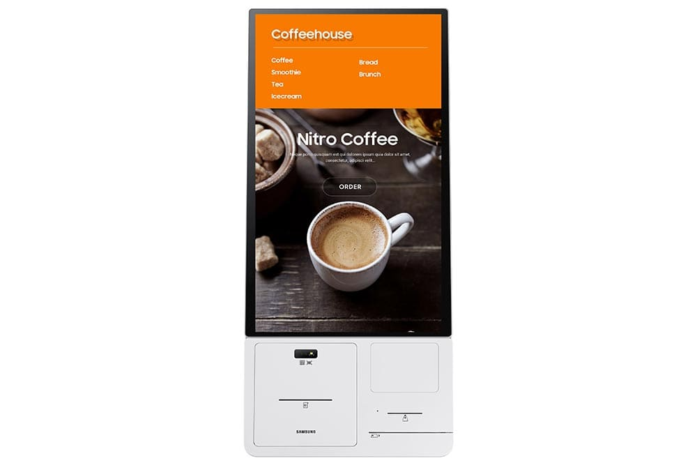 """24"""" Interactive Display KMA series - KM24A Front connect box"""