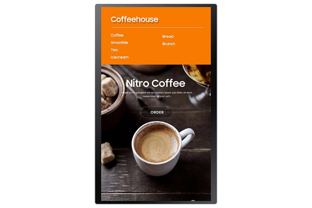 """24"""" Interactive Display KMA series - KM24A Front 03"""