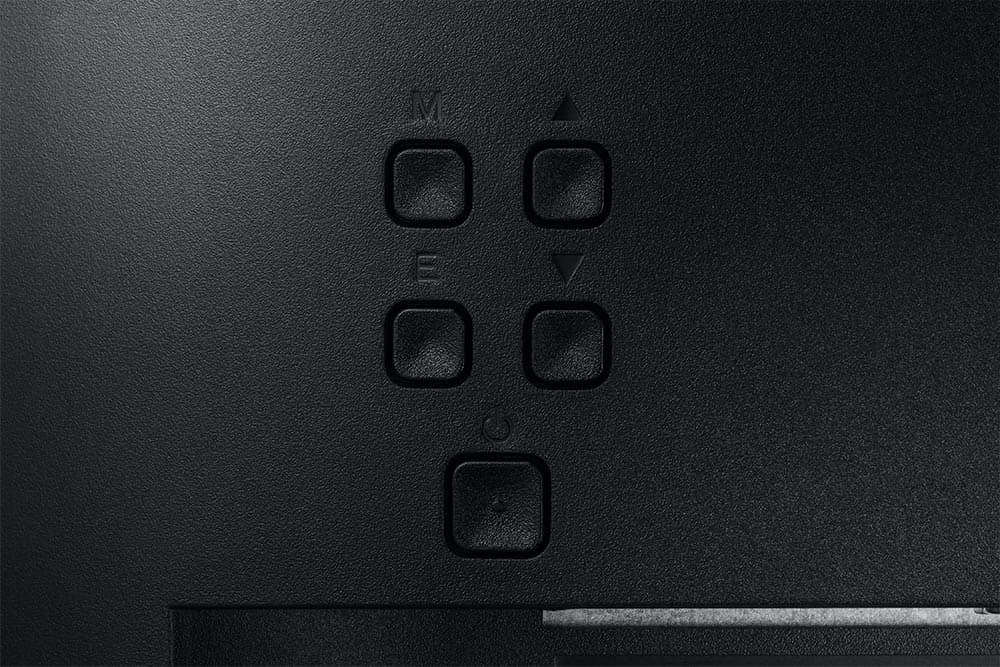 """19"""" Samsung flat monitor S31A series Back Detail"""