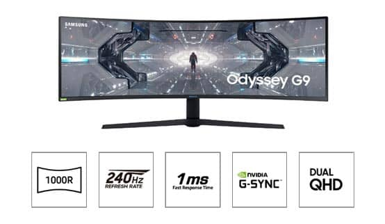 """49"""" Curved monitor G9 Series"""