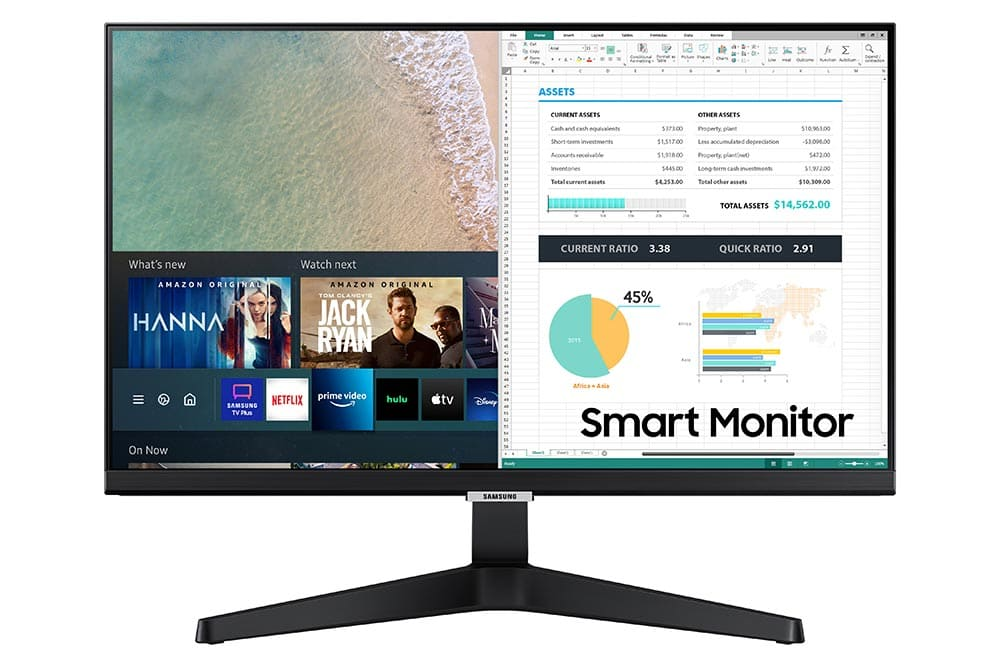"""24"""" Samsung flat monitor M50A series Front-01"""
