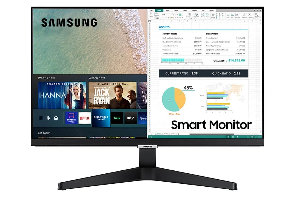 """24"""" Samsung flat monitor M50A series Front-02"""