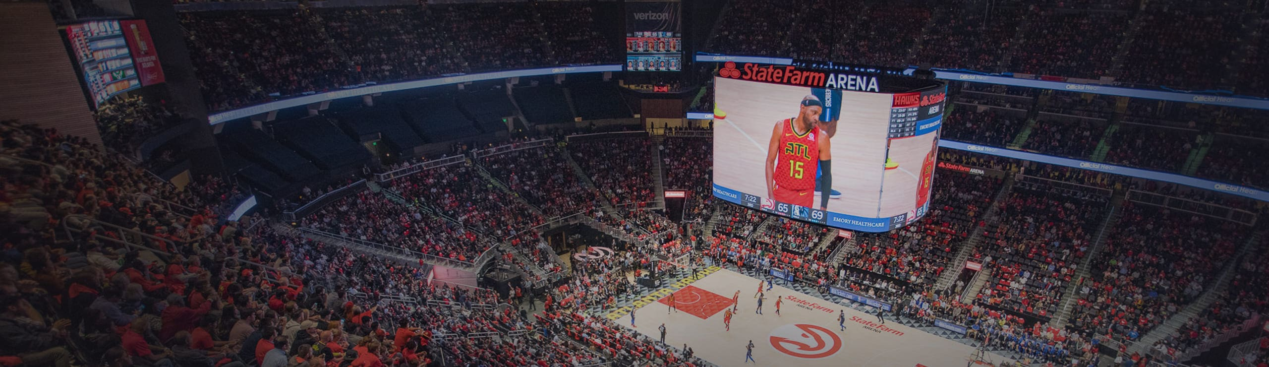 Atlanta Hawks State Farm Arena List Highlight Detail Submain Image