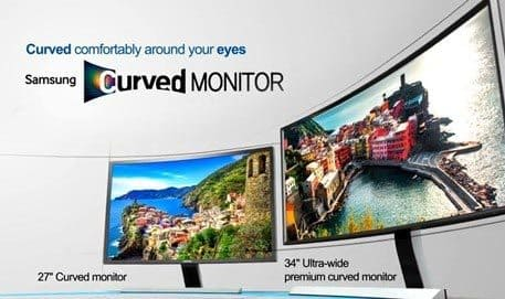 Why Samsung Curved Monitor! Comfortable Viewing Experience!