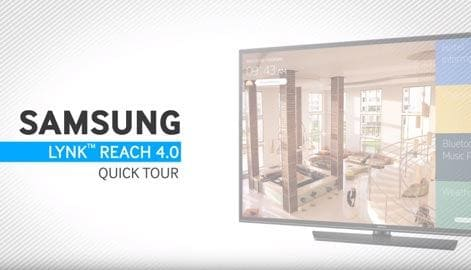 Samsung Hospitality Display Solutions - LYNK REACH 4.0