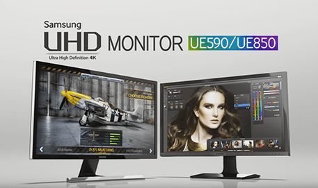 Samsung UHD Monitor Line-up Video