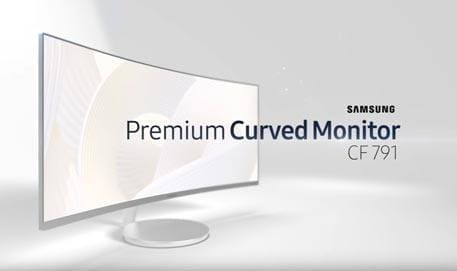 Samsung Premium Curved Monitor CF791 : Feature video