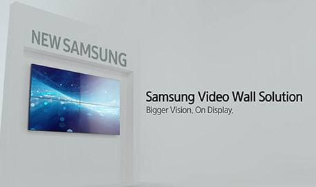 Why Samsung Video Wall Solution