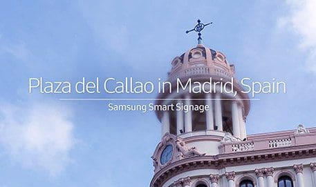 Samsung Smart LED Signage - Plaza del Callao