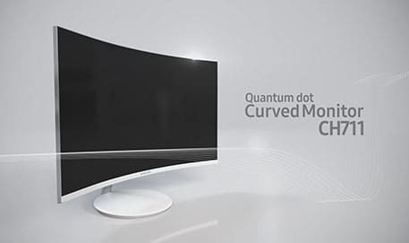 Samsung Curved Monitor CH711 : Feature Video