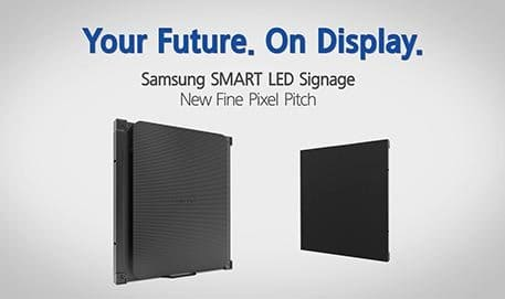 Samsung LED Signage New Fine Pixel Pitch, IF Series