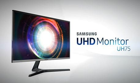Samsung UHD Monitor UH75 : Feature Video