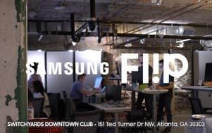 Samsung Flip: Case study - Switchyards Downtown Club