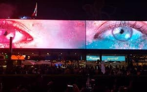 The biggest SMART LED signage of Samsung in South America
