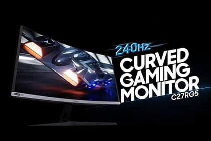 240Hz Curved Gaming Monitor C27RG5: Featured Video