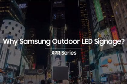 Outdoor LED Signage: Proven visuals. Built to perform.