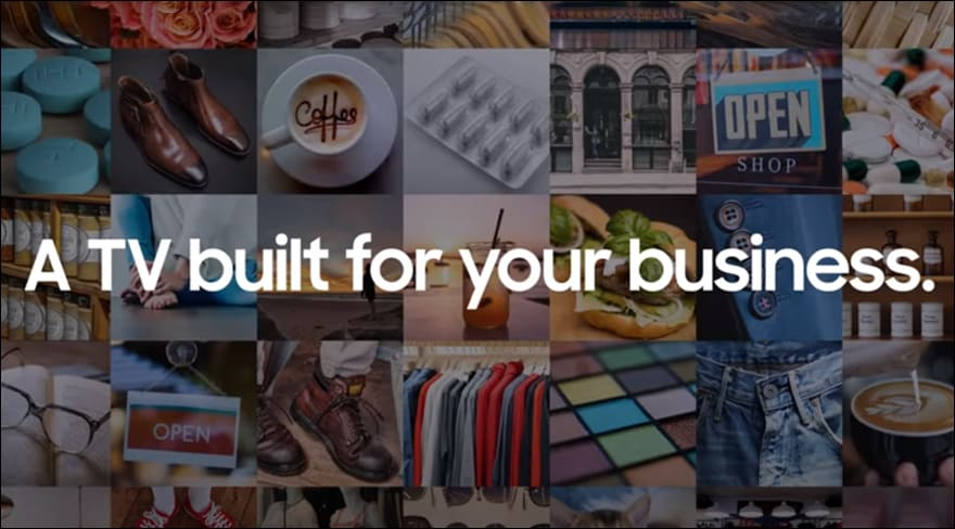 Samsung Business TV: A TV built for your business