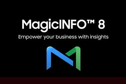 MagicINFO™ 8 Data Management Campaign Video