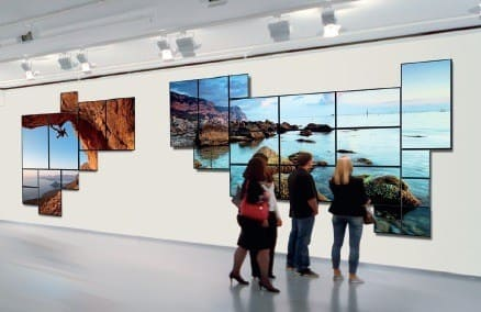 Samsung Color Expert Technology for Video Wall Displays
