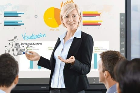 Samsung Interactive Whiteboard Solution for Corporation