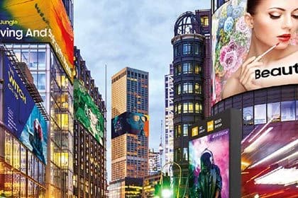 2018 Samsung DOOH display solutions