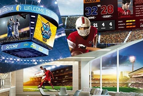 2019 Samsung Sports Display Solutions