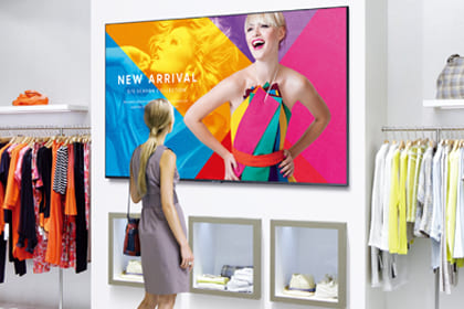 Upgrade your business with efficient digital displays