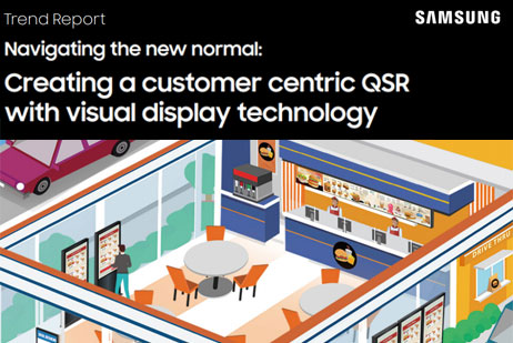 Creating a customer centric QSR with visual display technology