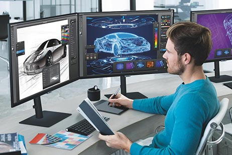 Innovative displays  that power your performance