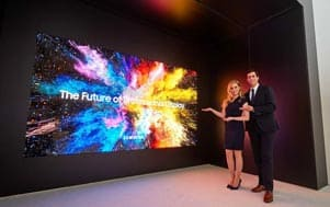 Samsung introduces The Wall professional for improved commercial content delivery at ISE 2018