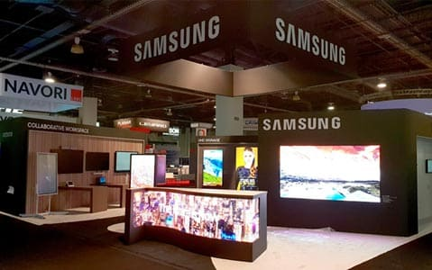 Samsung's interactive display solutions take center stage
