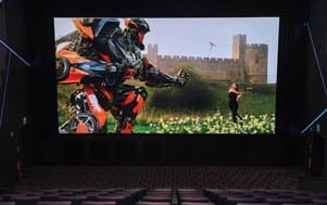 Samsung will help open the first LED cinema screen in the U.S., at Pacific Theatres Winnetka in Chatsworth, a suburb of Los Angeles, where audiences will be able to get a look at the cutting edge of film exhibition.