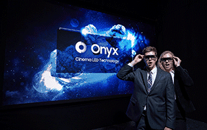 Samsung redefines the movie theater experience with the new Onyx Cinema LED screen