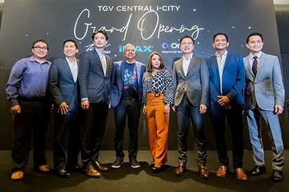 TGV launches the Onyx Cinema LED screen in Central i-City, Shah Alam!