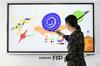 The Smartest Meeting Ever, Introducing the 2019 'Samsung Flip'
