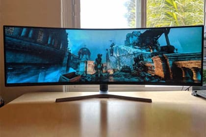 Samsung CRG90 49-inch Ultrawide Gaming Monitor Review