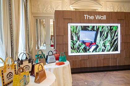 A Stunning Display: Samsung's 'The Wall Luxury' Wows at Paris Fashion Week