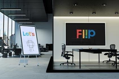 Samsung Flip 2 Interactive Display Turns Teamwork, Collaboration and Learning Digital