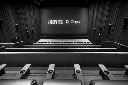Samsung unveiled its Onyx screen in Australia at HOYTS Entertainment Quarter in Moore Park, Sydney, the first-ever in Australia.