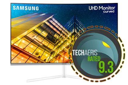 Samsung UR59C 32″ 4K UHD monitor review: Superb color and detail