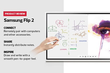 Energize collaboration with an ultra-smooth pen and an advanced interactive display.
