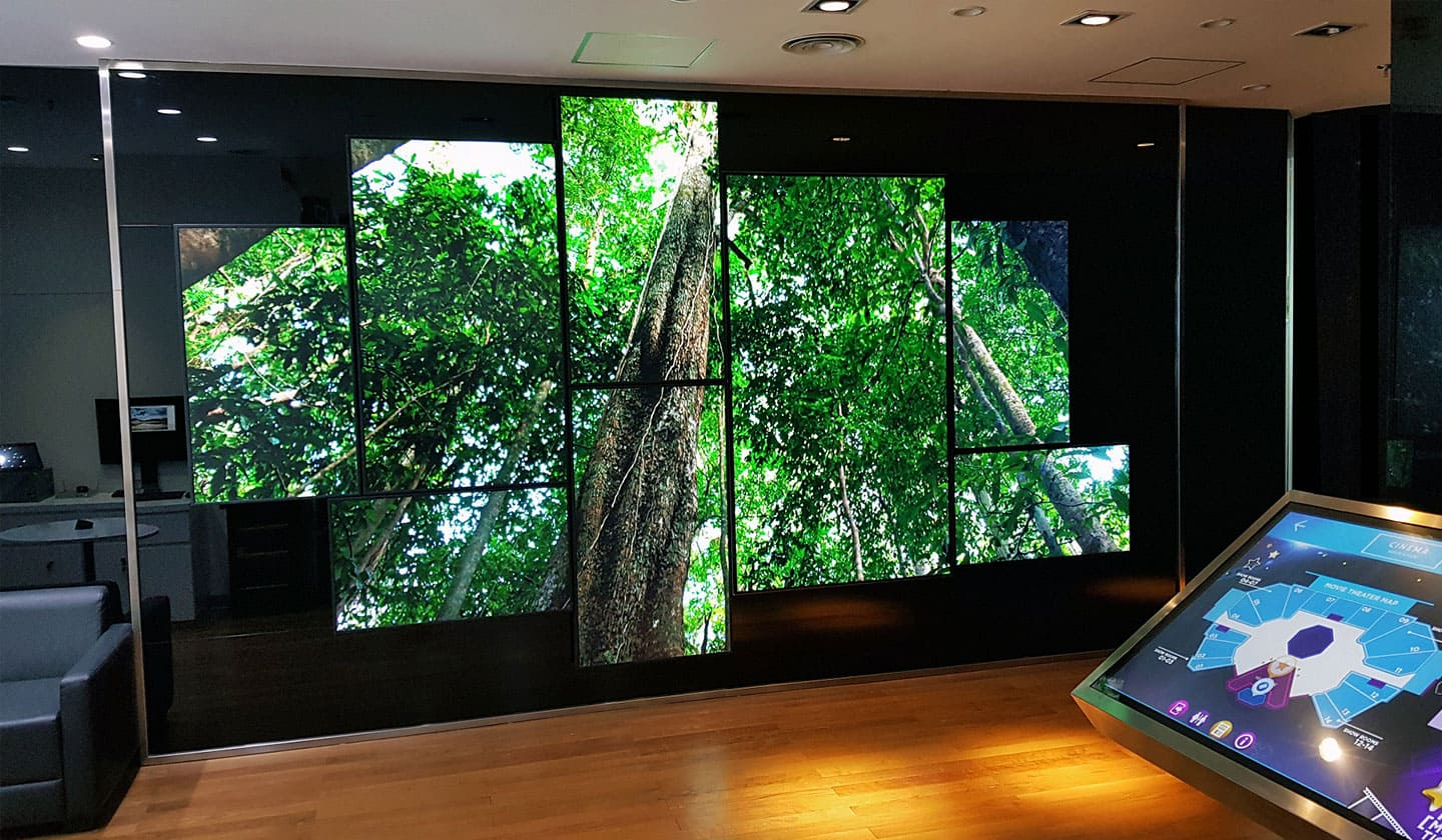 Videowall Showroom