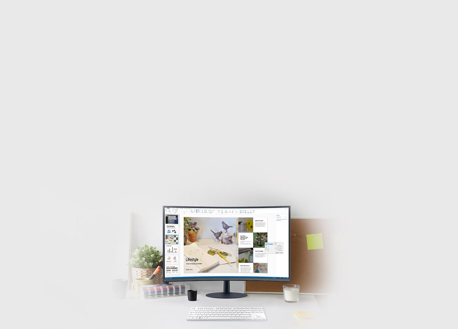 Your office is where your monitor is