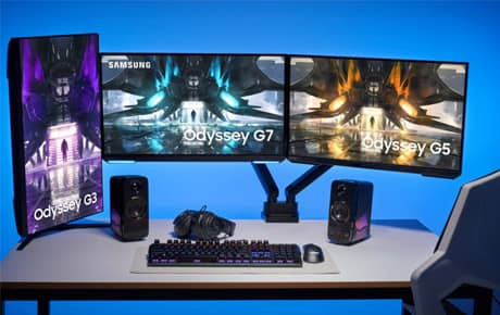 Samsung Unveils Its Expanded 2021 Odyssey Gaming Monitor Lineup