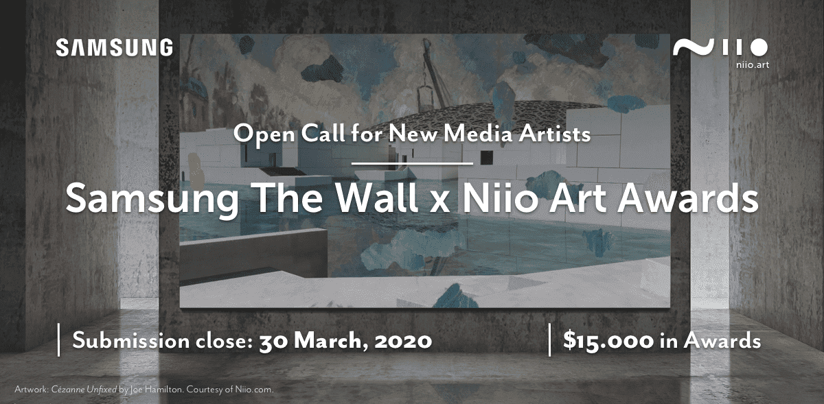 Samsung & Niio Art Launch Prestigious Global Digital Art Competition Celebrating Visual Arts on 'The Wall'