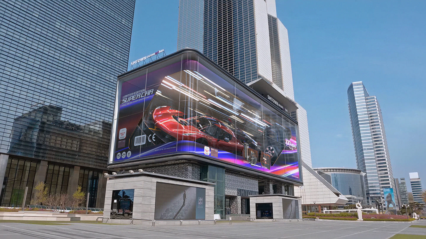 Samsung Partners with Design Studio d'strict to Create Revolutionary Content for SMART Signage