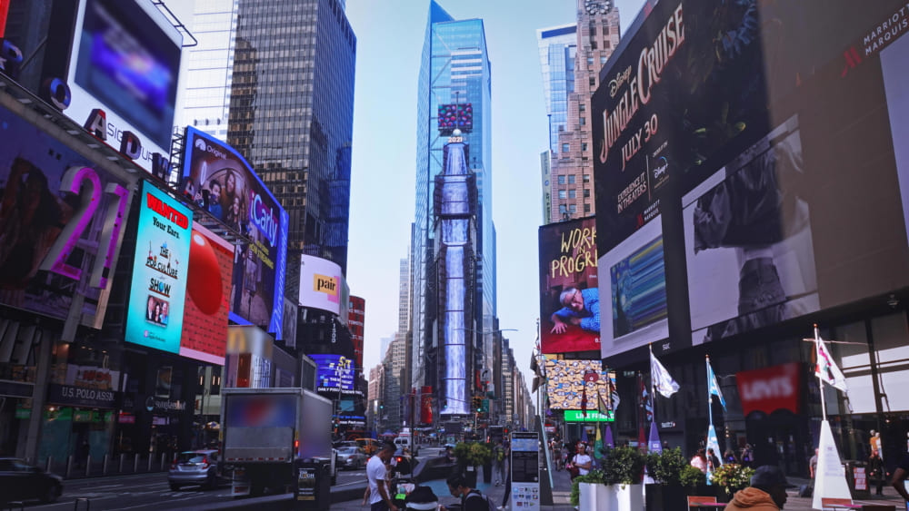 Nature to Times Square 1